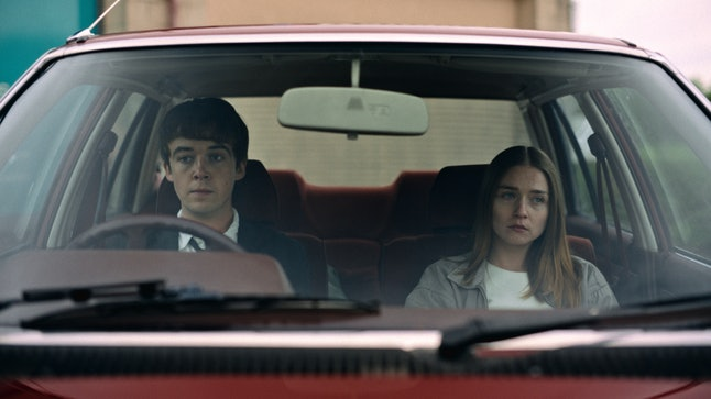 James and Alyssa in The End of the F***ing World Season 2.