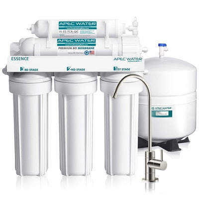 APEC 5-Stage Reverse Osmosis Drinking Water Filter System With Faucet