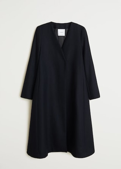 Recycled Wool Oversize Coat