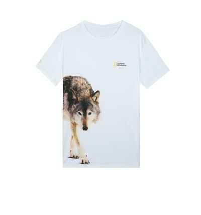 National Geographic Wolf T-Shirt