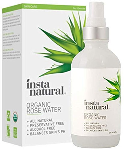 InstaNatural Rose Water Facial Toner