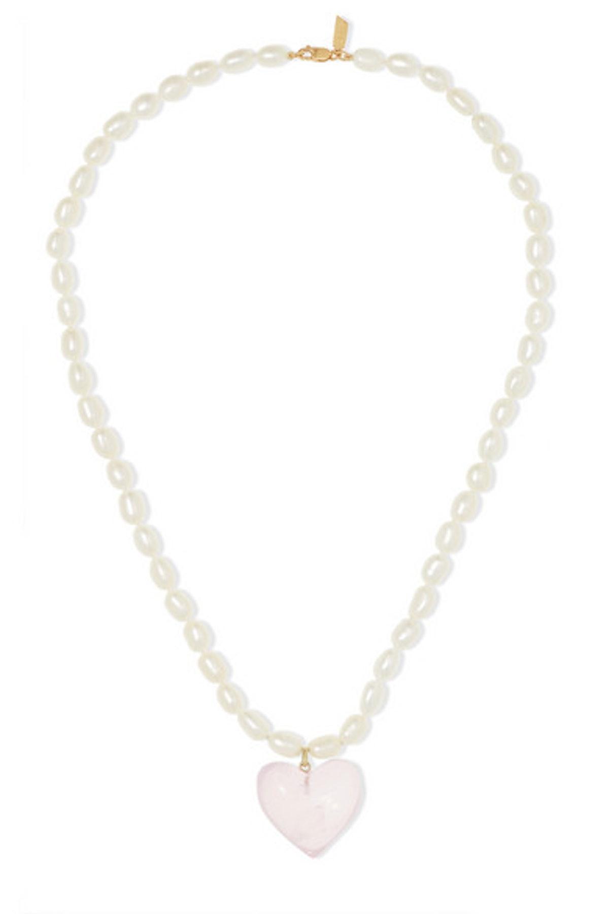Pearl and Quartz Necklace
