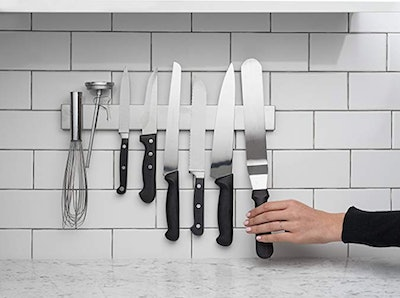Modern Innovations 16-Inch Stainless Steel Magnetic Knife Bar
