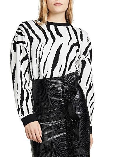 Zebra Pattern Sweater