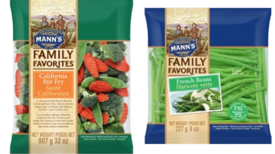 Concerns about possible listeria contamination have caused more than a hundred vegetable products to be recalled.