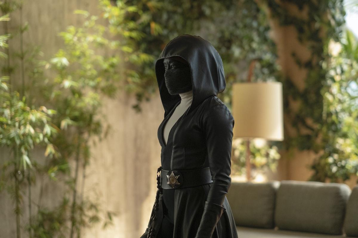 Sister Night in Watchmen
