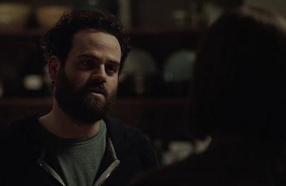 Mark Green (Omar Elba) confronts Lia in 'Limetown' Episode 7