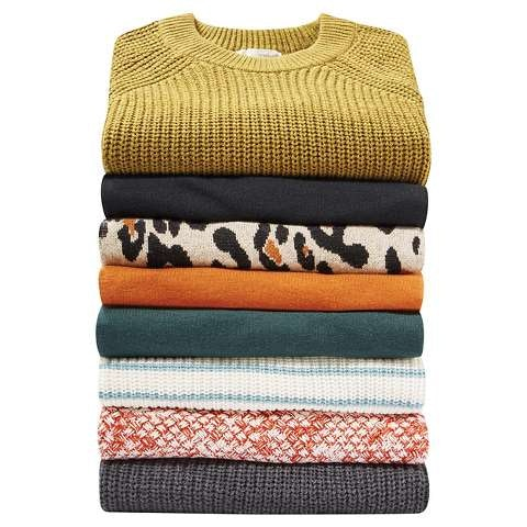 Target's Black Friday ad features $10 sweaters.
