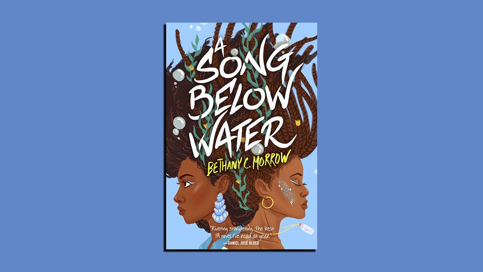 The cover of A Song Below Water, a story about Black mermaids, by Bethany C. Morrow
