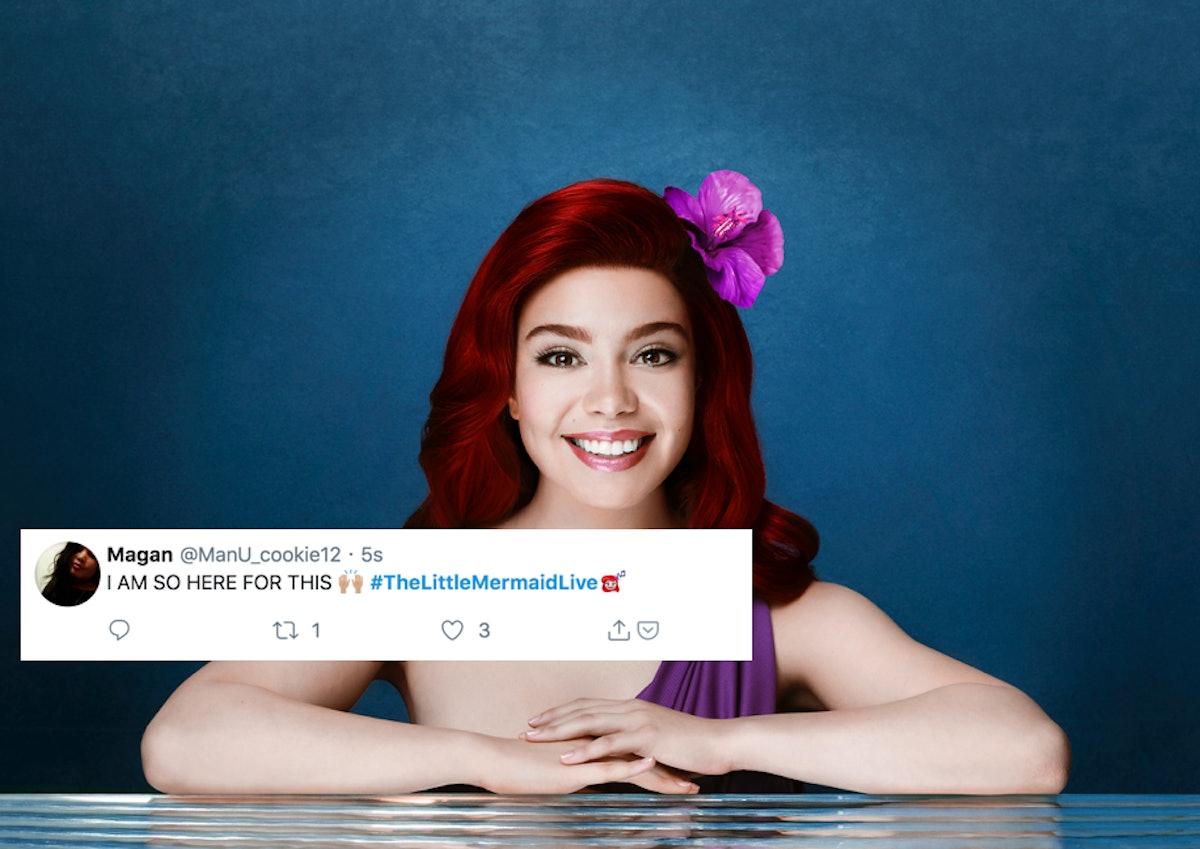 'The Little Mermaid Live' Tweets