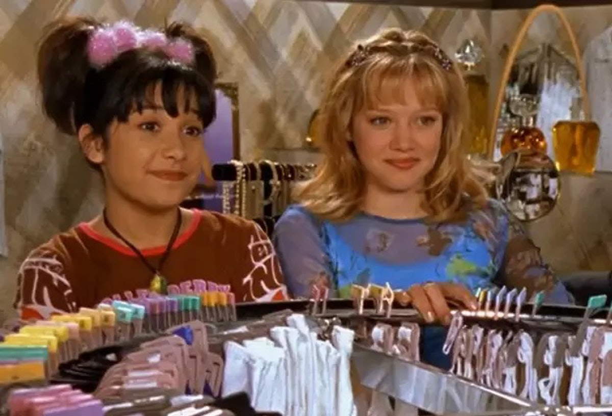 Lizzie McGuire asking for a bra was a standout moment from the series.