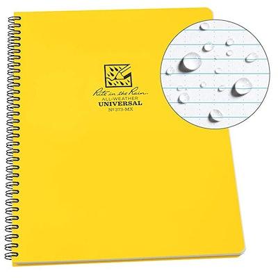 Rite In The Rain Weatherproof Side-Spiral Notebook