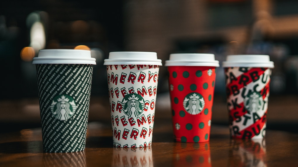 The Starbucks' Holiday 2019 Cup Designs are like your favorite holiday wrapping paper.
