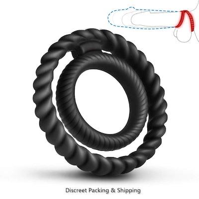 YosPoss Silicone Dual Penis Ring