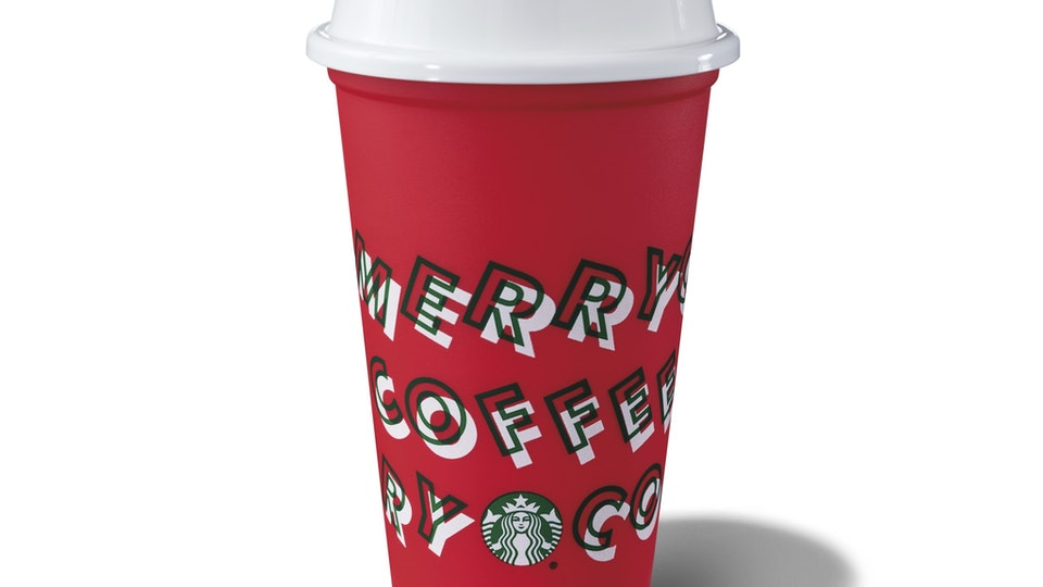 The free, reusable Starbucks cup will be available in limited quantities on Nov. 7.