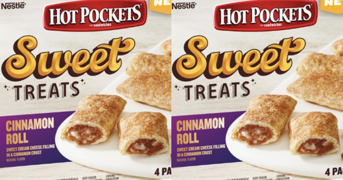Hot Pockets Released A Cinnamon Roll Flavor With Cream Cheese Filling