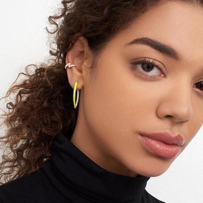 Cristina Enamel Earring