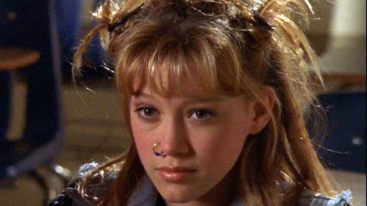 Lizzie McGuire got a punk makeover when she became a bad girl.