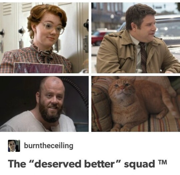 Four characters from stranger things