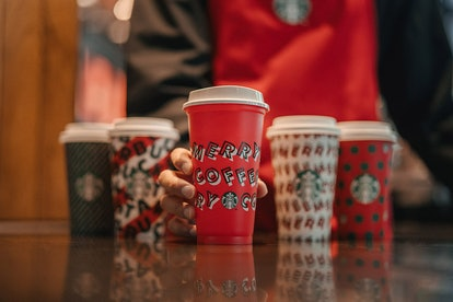 Classic Red Starbucks Holiday Cup
