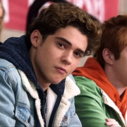 Joshua Bassett plays Ricky in the Disney+ series 'High School Musical: The Musical: The Series.'