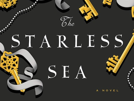 The cover of The Starless Sea, the latest novel from The Night Circus author Erin Morgenstern.