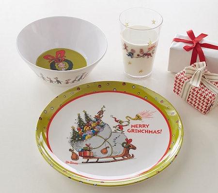 Grinch Plate Set