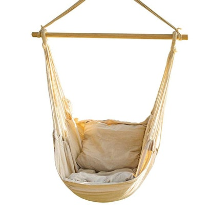 CCTRO Hanging Rope Hammock Chair