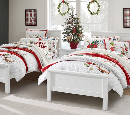 The Pottery Barn Grinch Collection Is Making My Heart Grow