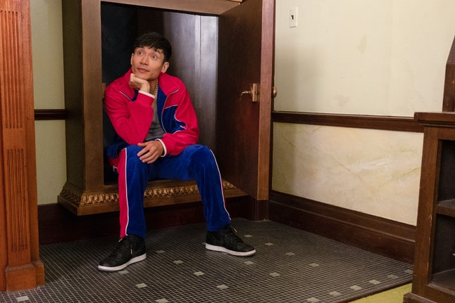 Manny Jacinto in The Good Place