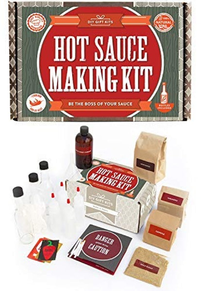 DIY Gift Kits Hot Sauce Kit