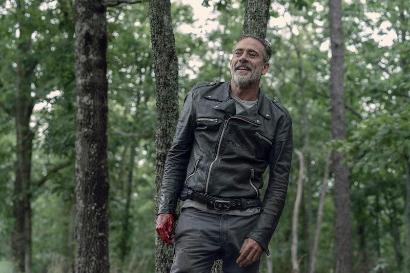 Jeffrey Dean Morgan as Negan in The Walking Dead Season 10, Episode 6