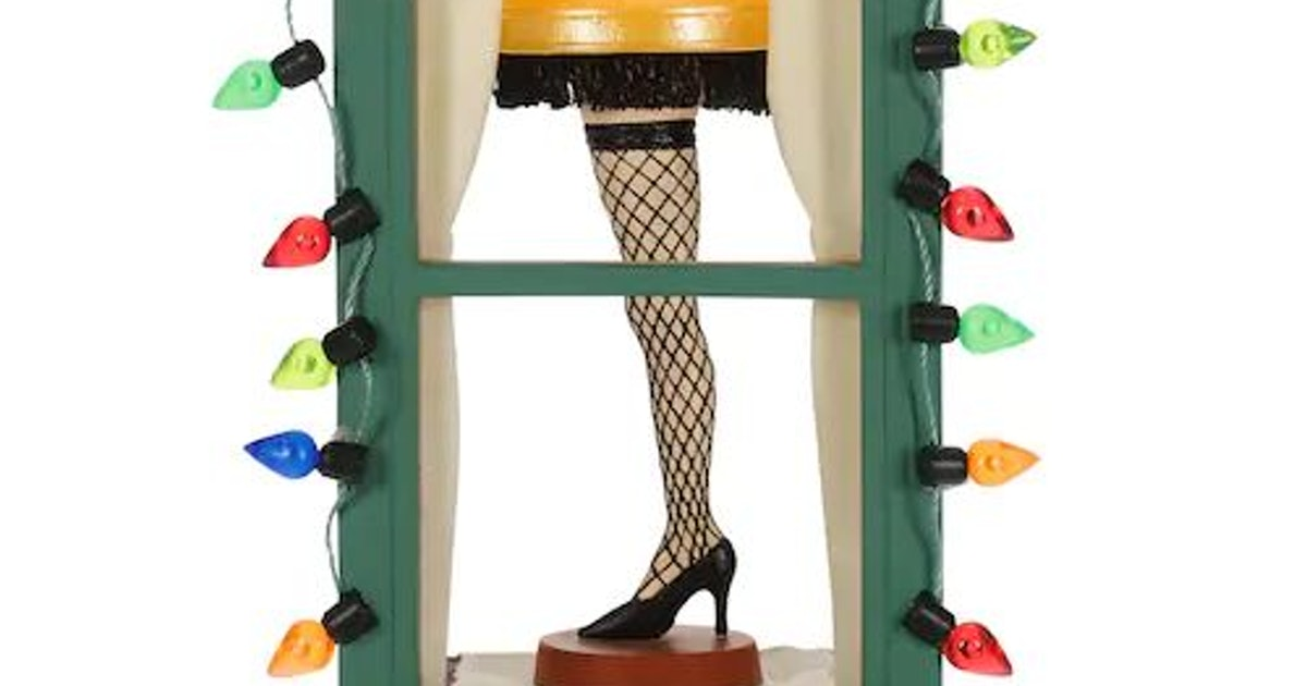 The A Christmas Story Leg Lamp Ornament Is Your New