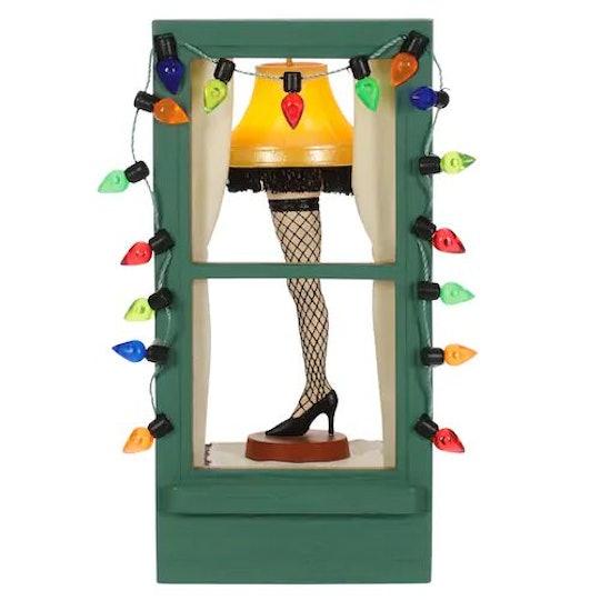 christmas story leg lamp ornament