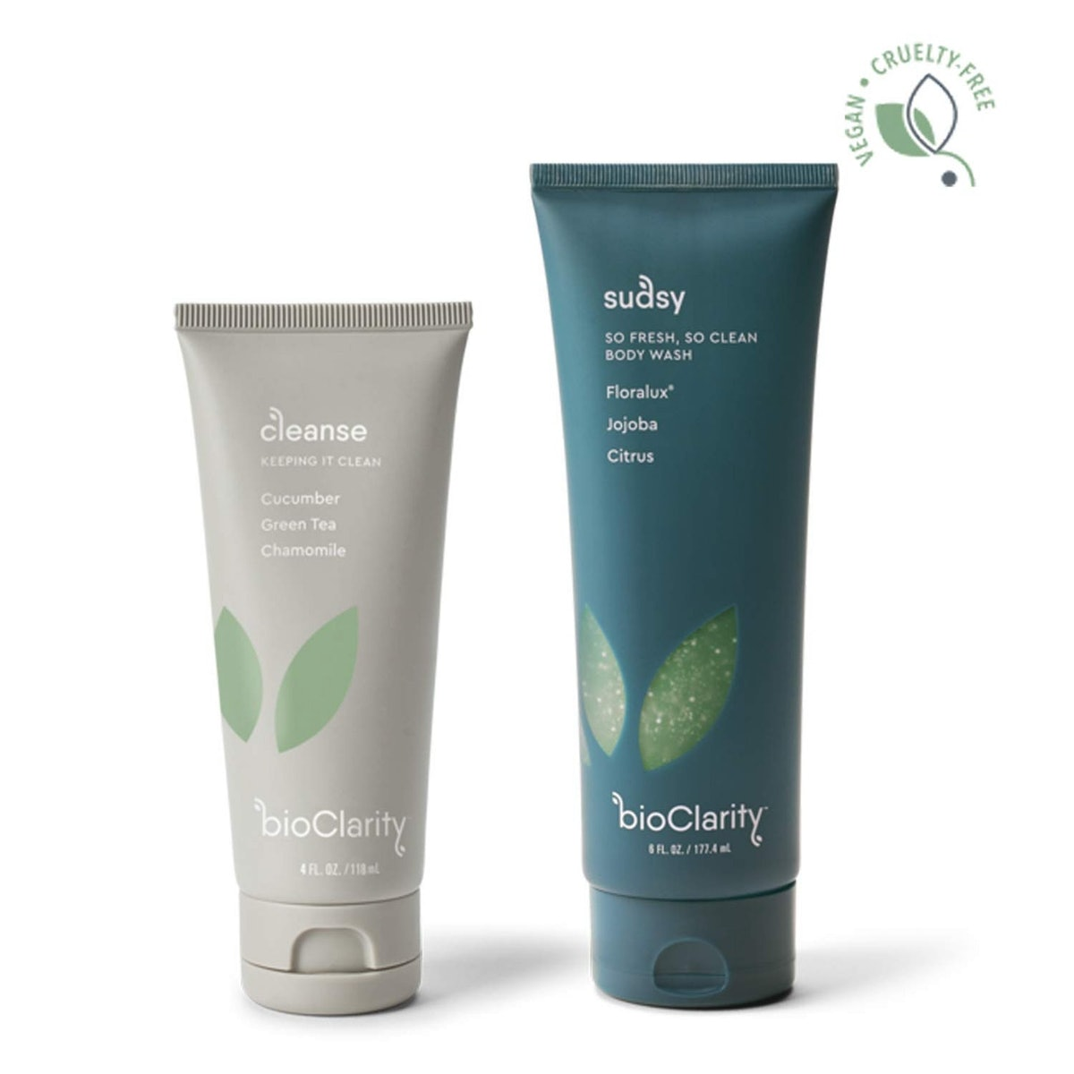 bioClarity Natural Face Cleanser & Body Wash