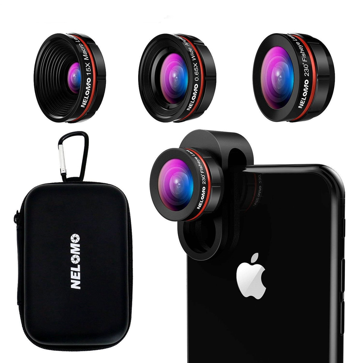 NELOMO HD Camera Lens Kit for iPhone