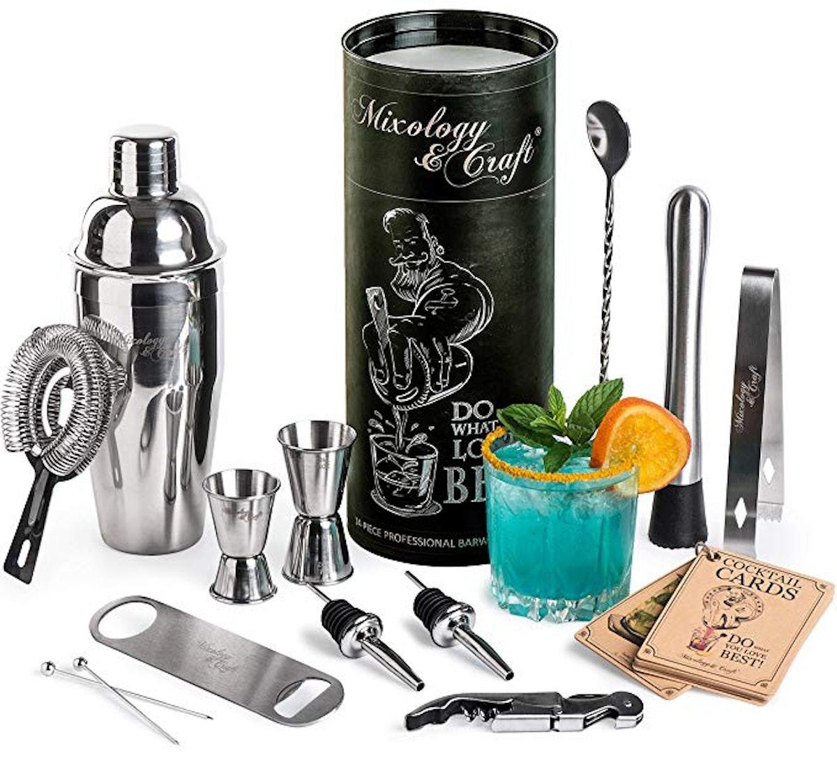 Mixology Bartender Kit (Set of 14)