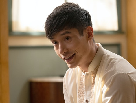 Manny Jacinto as Jason in NBC's The Good Place