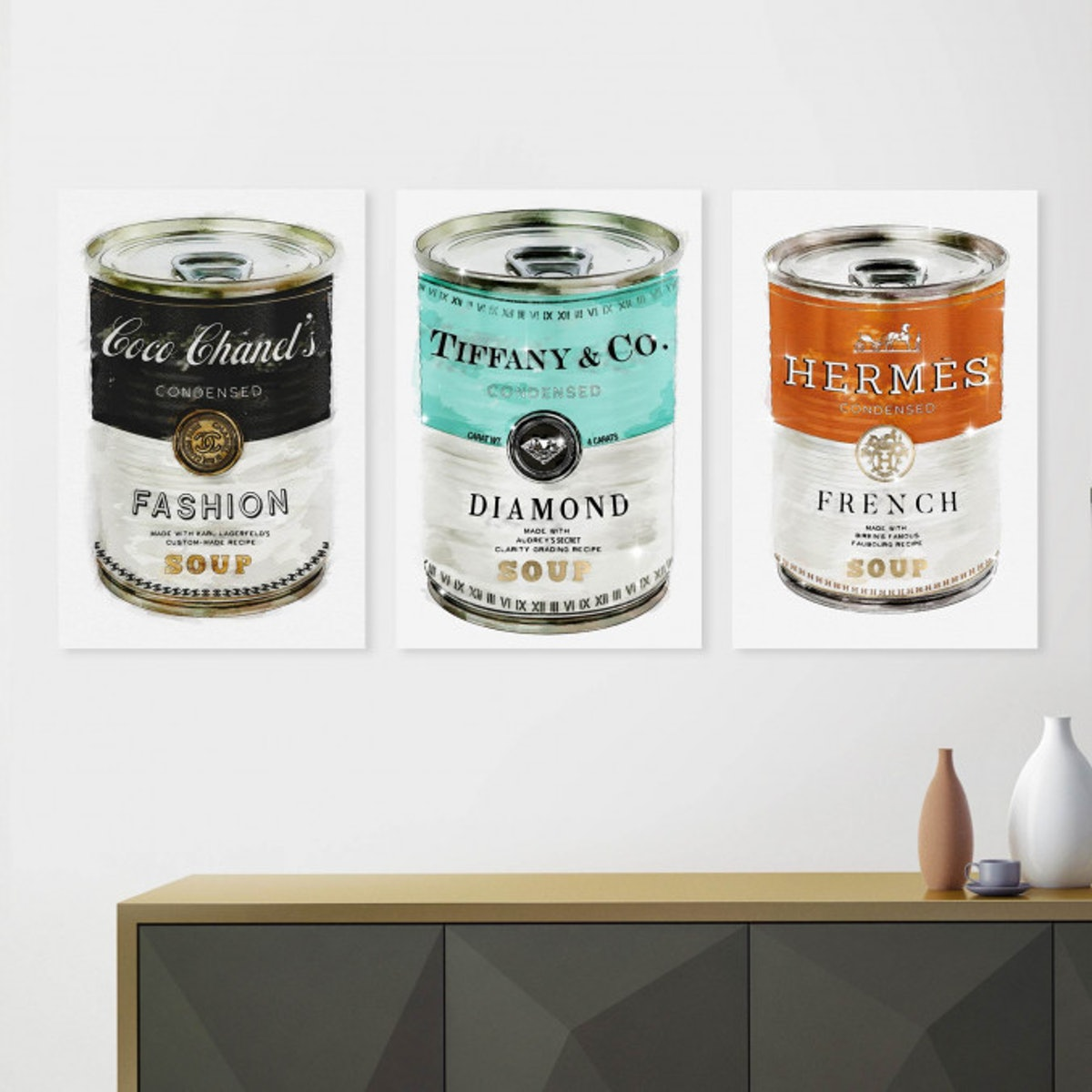 Luxury Soup Can Set