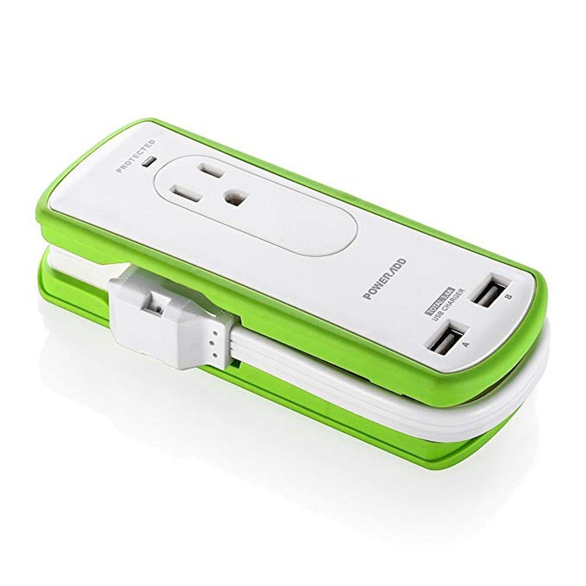 POWERADD Mini Portable Power Strip