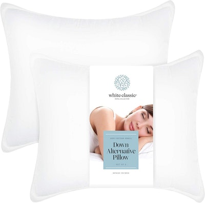 Down Alternative Luxury Hotel Pillow by White Classic