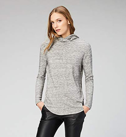 Daily Ritual Women's Supersoft Terry Long-Sleeve Hooded Pullover