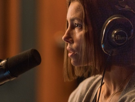 Jessica Biel stars as Lia Haddock in 'Limetown.'