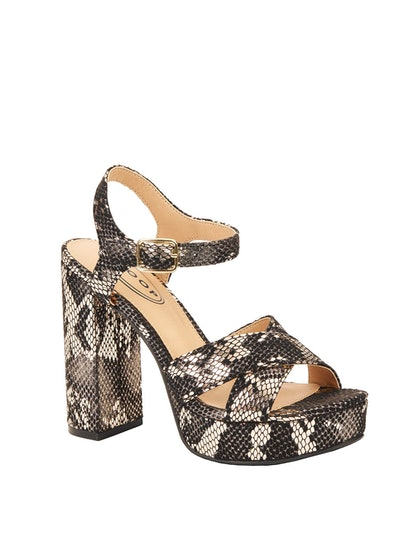 Yvonne Chunky Platform Heel Sandals