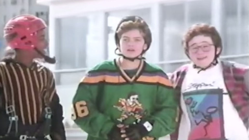 """Mighty Ducks"" is getting a re-boot series on Disney+."