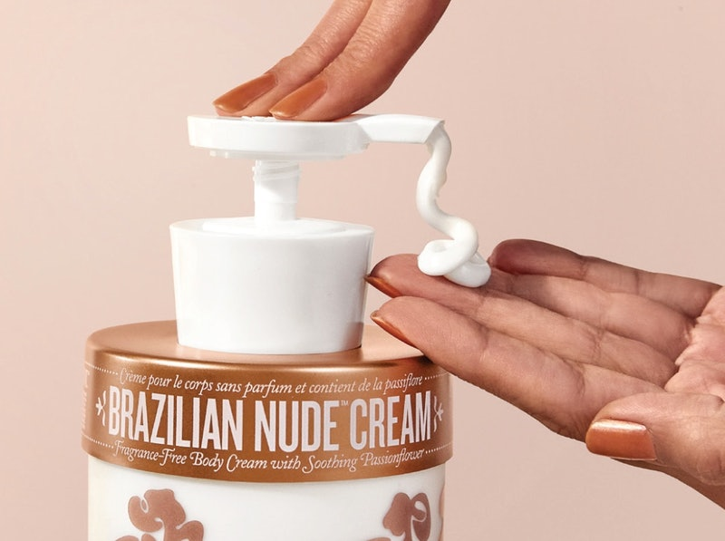 Sol de Janeiro's new Brazilian Nude Body Cream is the fragrance-free version of its skin softening body lotion.
