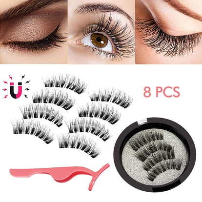 BUOCEANS Official Magnetic Eyelashes (8 Pieces)