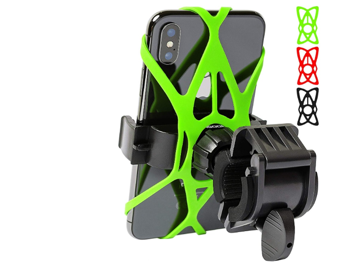 Bike Phone Mount for Any Smart Phone by Mongoora