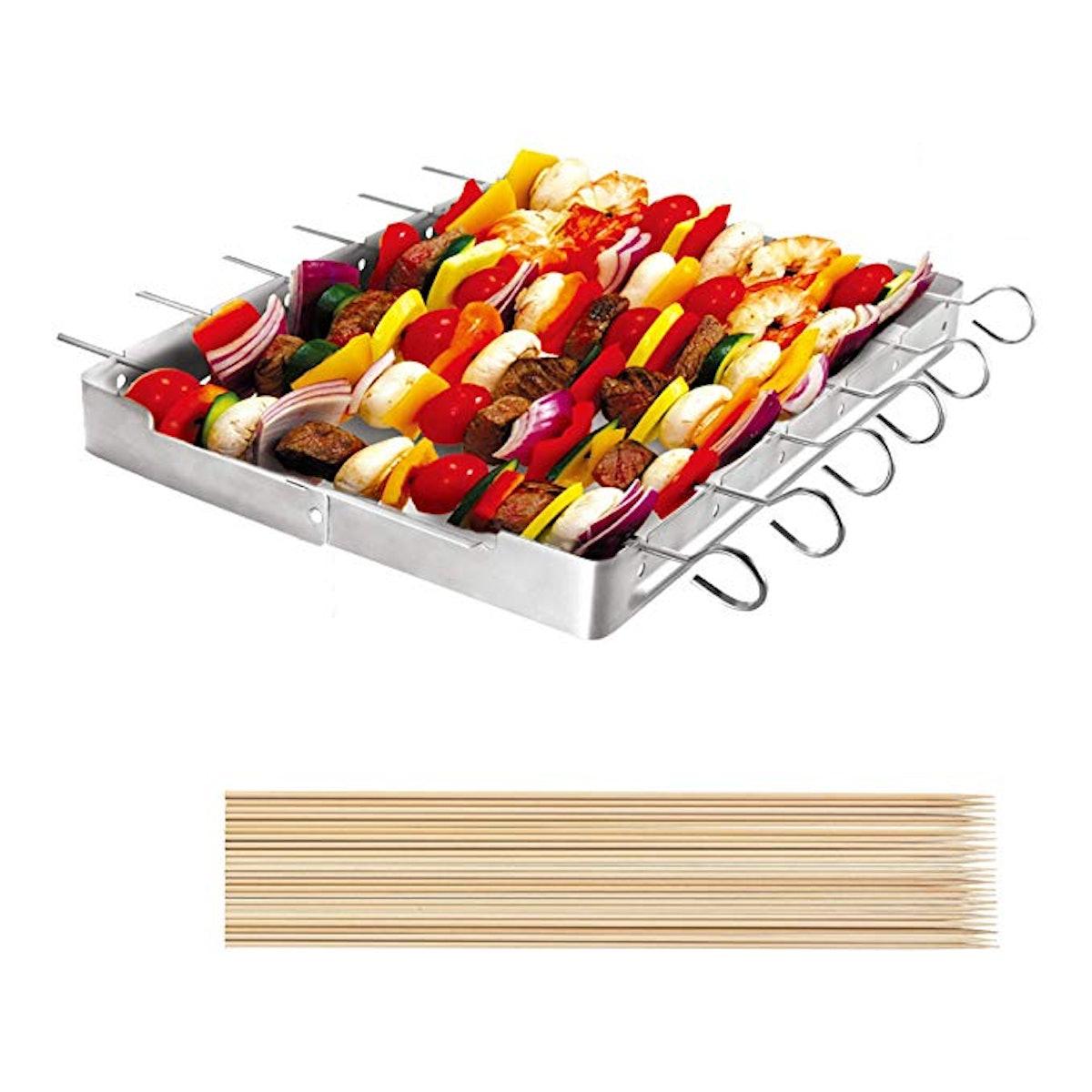 Unicook Stainless Steel Barbecue Skewer