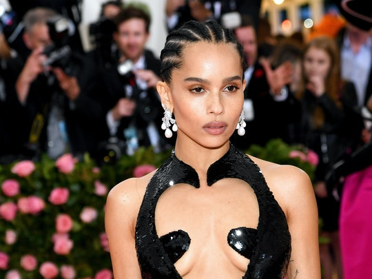 Holiday party trends on zoe kravitz